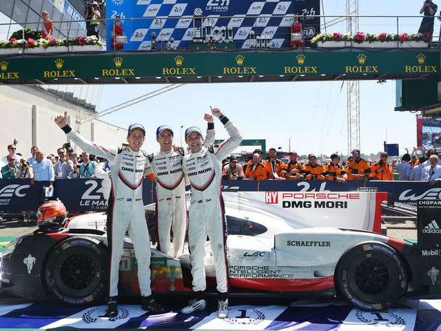 Porsche takes dramatic 24 Hours of Le Mans win