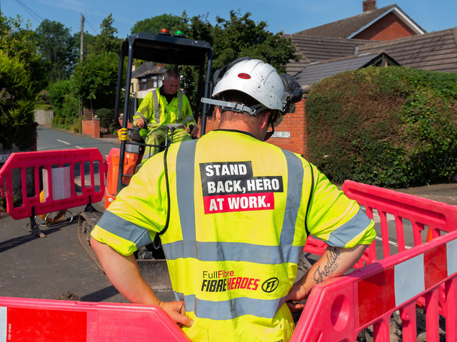 FullFibre Ltd Sees Broadband Network Pass 15,000 UK Premises