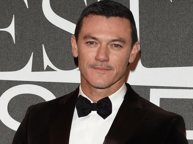 Luke Evans Suits Up For 'GQ' Best Dressed Men Event in Milan