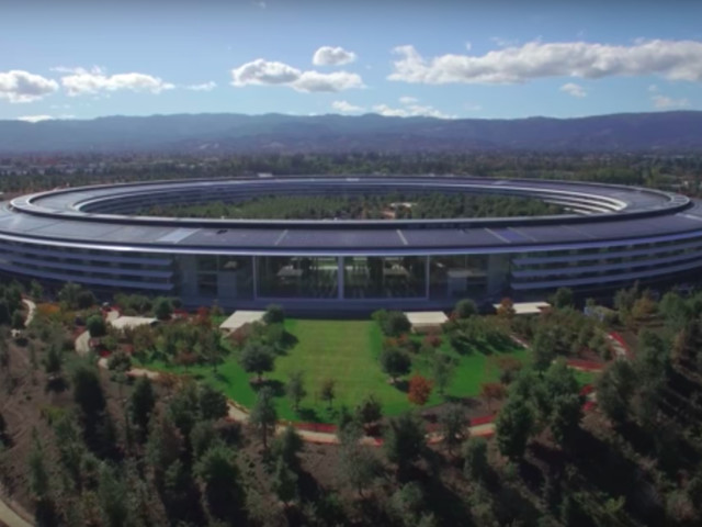 Stunning new drone footage of Apple Park will make your jaw drop