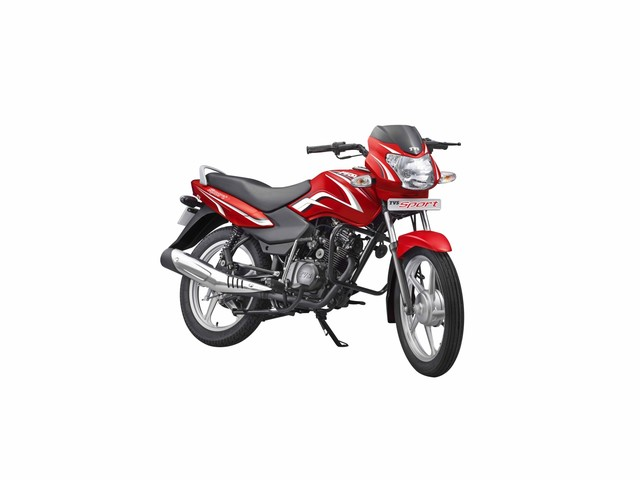 TVS Sport Silver Alloy Edition Launched In India