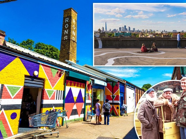 Del Boy's home Peckham named among the coolest places in the world by Time Out city experts