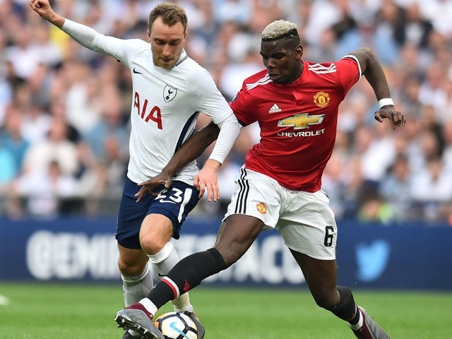 Man Utd's Eriksen hopes evaporate and Pogba gets desperate