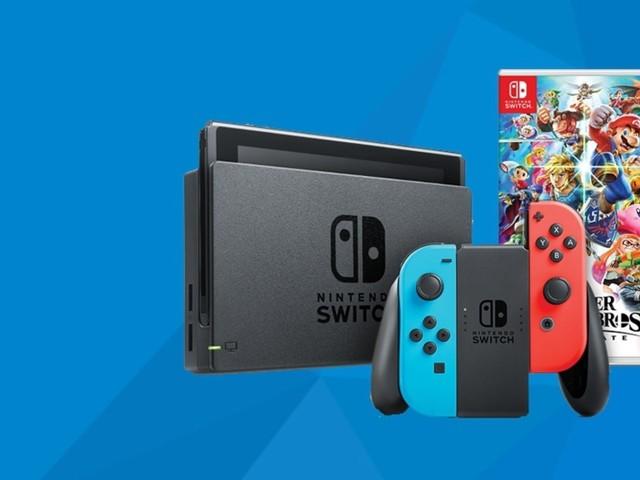 Snag a Nintendo Switch with Smash Bros. and Mario Kart for £299