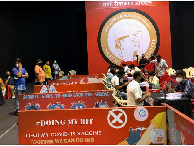 Bollywood Plots Path to Recovery as Industry Helps India's Vaccination Efforts