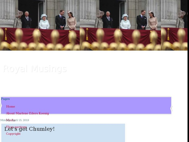Let's get Chumley!