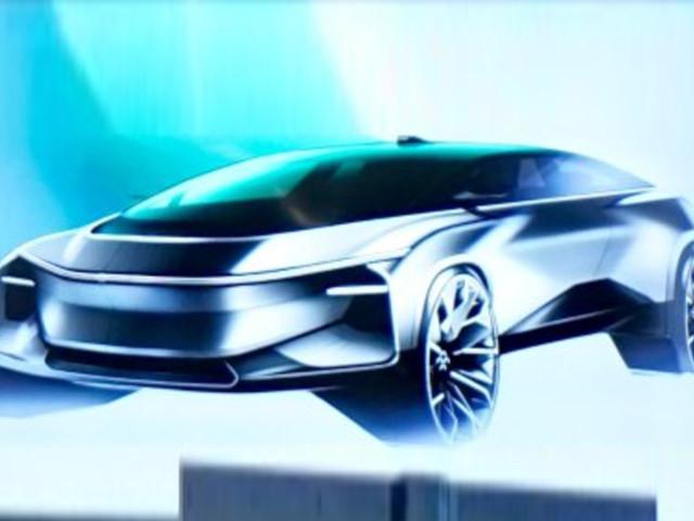 Faraday Future teases new small electric SUV