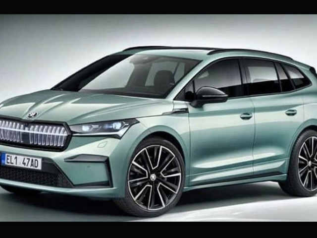 Skoda Enyaq: electric SUV leaks out ahead of imminent unveiling
