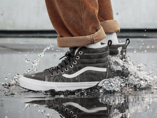8 men's sneakers that'll keep you comfortable and dry in the rain