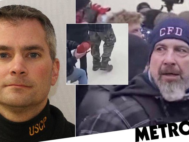 FBI releases photos of rioter wanted over murder of Capitol cop