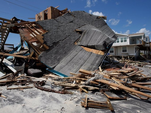 How much rain fell and how high the wind gusted on the US mainland during Hurricane Irma's destruction