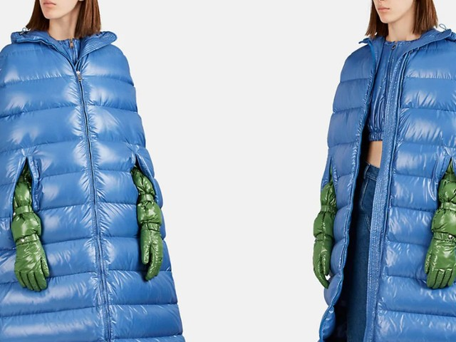 You can now buy a $3,565 floor-length puffer coat made with no sleeves
