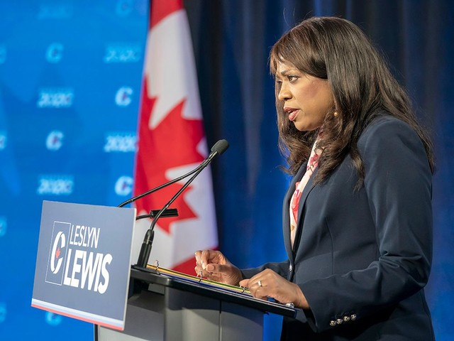Leslyn Lewis' remarkable rise from virtual unknown to conservative prominence in one leadership race