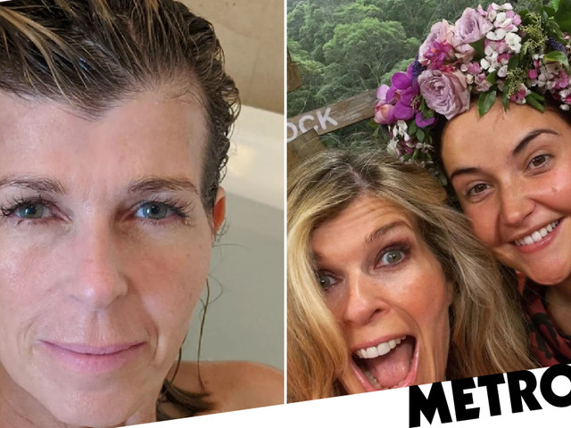 I'm A Celebrity's Kate Garraway can't get enough of first post-jungle bath before fangirling over winner Jacqueline Jossa