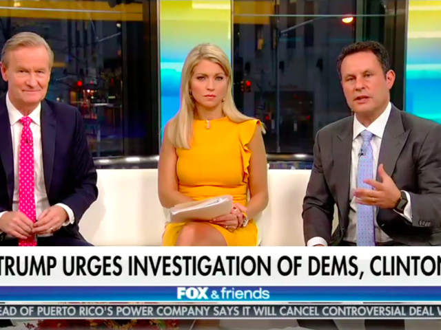 Fox & Friends Managed to Make the Manafort Indictment About Hillary Clinton in Record Time