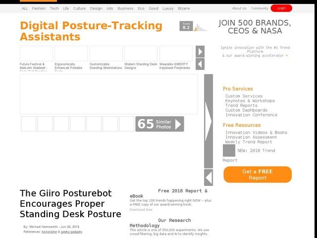 Digital Posture Tracking Assistants The Giiro Posturebot