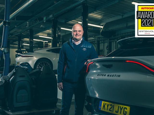 Aston Martin's Matt Becker wins Autocar Awards 2021 Mundy Award for Engineering