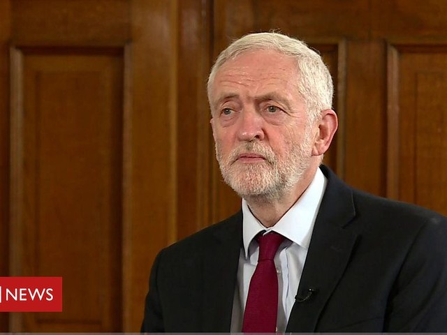 Jeremy Corbyn: Theresa May has lost confidence of her own MPs