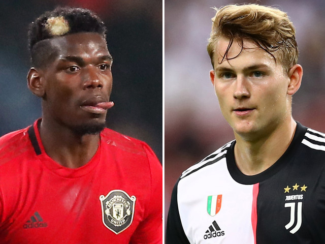 Man Utd ready to swap Paul Pogba for Juventus flop Matthijs de Ligt in win-win transfer for both clubs