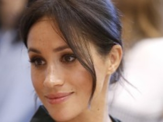 Duchess Meghan made a surprise appearance at the British Fashion Awards