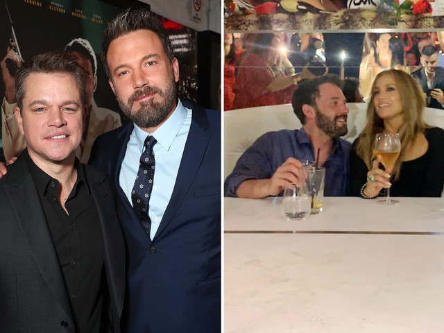 Matt Damon gushes he's 'so happy' BFF Ben Affleck has reunited with JLo after couple's steamy yacht getaway
