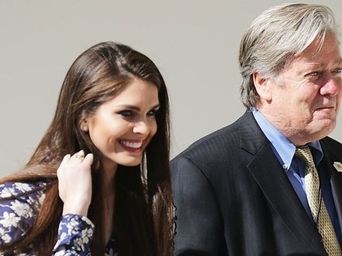 Report: A Mueller Witness Will Accuse Hope Hicks Of Vowing That Don Jr.'s Emails 'Will Never Get Out'