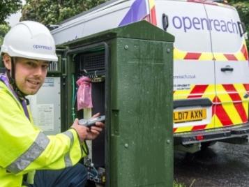 Openreach Extend 330Mbps G.fast Broadband Pilot to 1 Million UK Premises