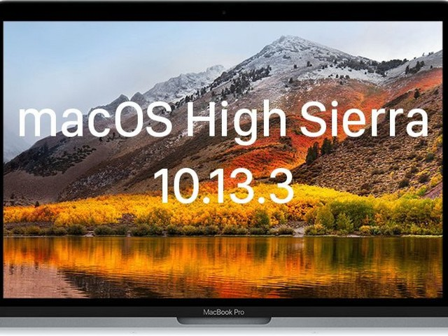 Apple Releases macOS High Sierra 10.13.3 With Fix for Messages Bug