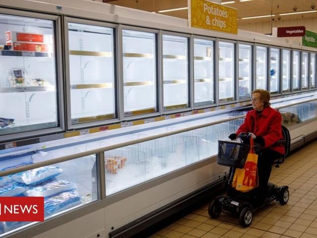 Coronavirus: Shoppers told to buy responsibly