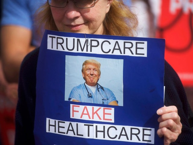 Poll: Americans oppose House Trumpcare bill by three to one margin