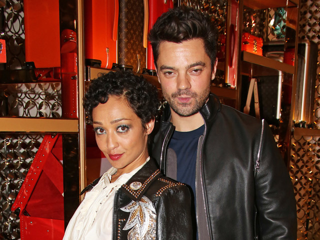 Ruth Negga & Dominic Cooper Couple Up at Louis Vuitton Party in London