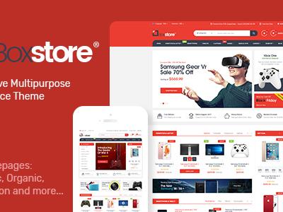 BoxStore - Multipurpose Magento Theme (Health & Beauty)