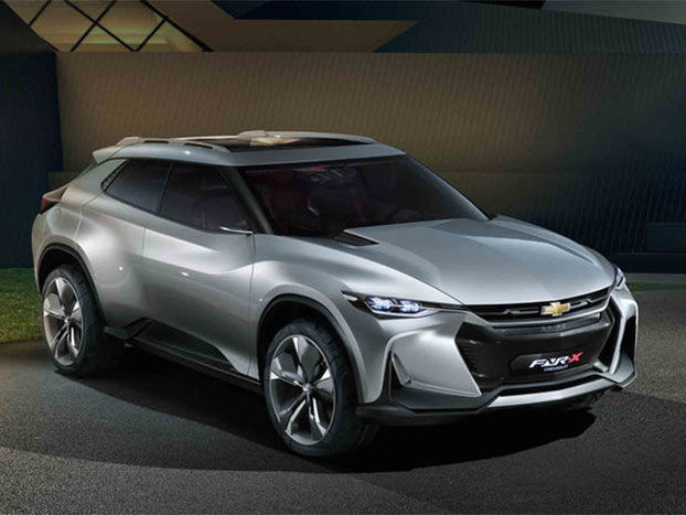 Sports Car-Inspired Crossovers - The Chevrolet FNR-X Crossover Concept is Exceptionally Styled (TrendHunter.com)