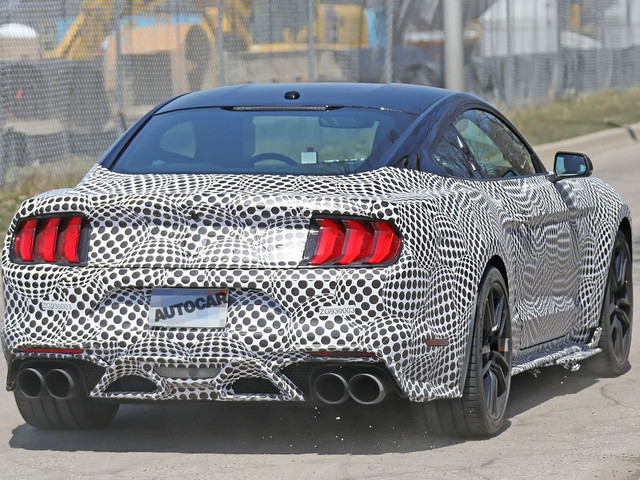 2019 Ford Mustang Shelby GT500: new pictures of 700bhp muscle car