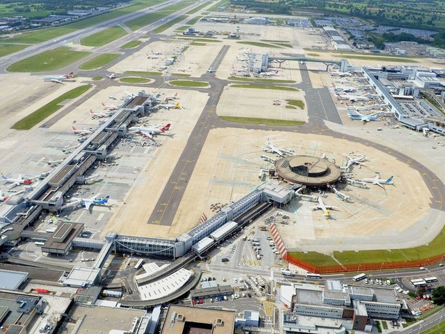 Guess which airport has been voted the best in Britain by passengers - and which one is left grounded