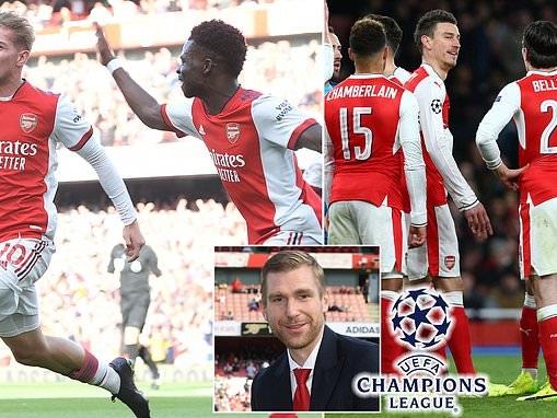 Arsenal: Per Mertesacker says Bukayo Saka and Emile Smith Rowe can pull off Champions League return