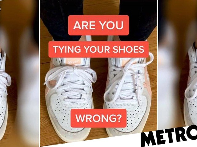 TikTok video debates how to tie your shoelaces and says most people are doing it wrong