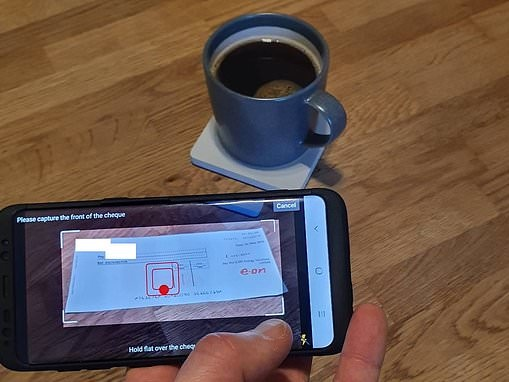 How HSBC digital cheque app use soared over the festive period