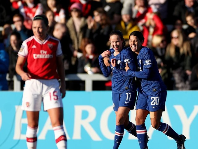 CFCW match report, goals and highlights: Chelsea FC Women 4-1 Arsenal WFC
