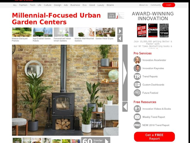 """Millennial-Focused Urban Garden Centers - Patch Delivers """"Urban Jungles"""" and Advice for Keeping Them (TrendHunter.com)"""