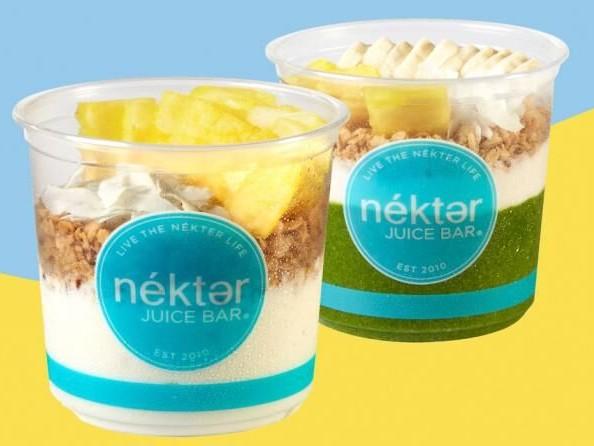 Summertime Breakfast Bowls - Nékter Juice Bar Has a Tropical Citrus Bowl & Pineapple Coconut Bowl (TrendHunter.com)