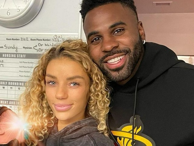Jason Derulo announces split from Jena Frumes four months after birth of son