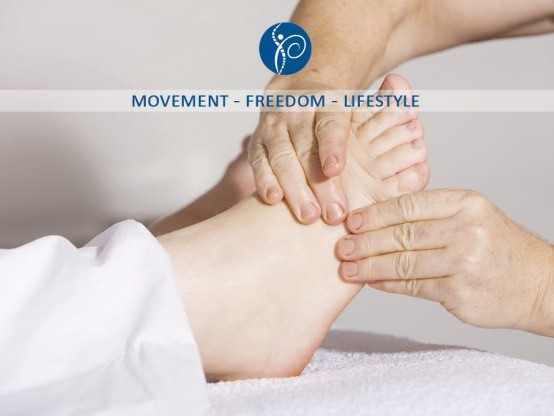 Reflexology now available at Kent Sport Physiotherapy Clinic