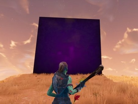Fortnite Season 6 is being teased with a giant purple cube