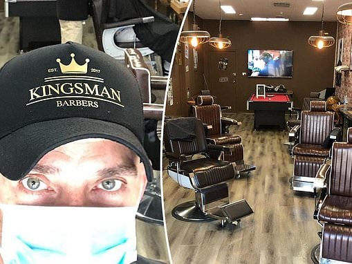 Married At First Sight: Steve Burley's Melbourne barbershop hit by COVID-19 pandemic
