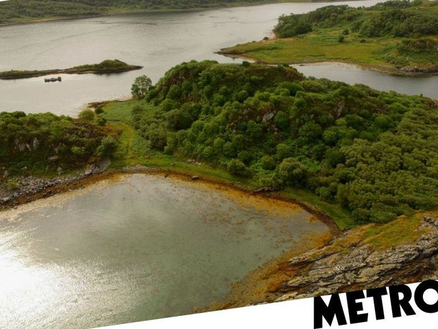 An untouched Scottish island could be all yours for £120,000