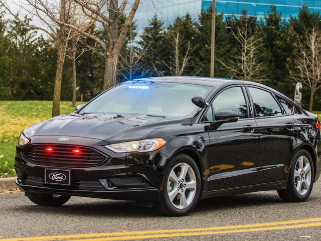 Ford releases its first plug-in hybrid police vehicle
