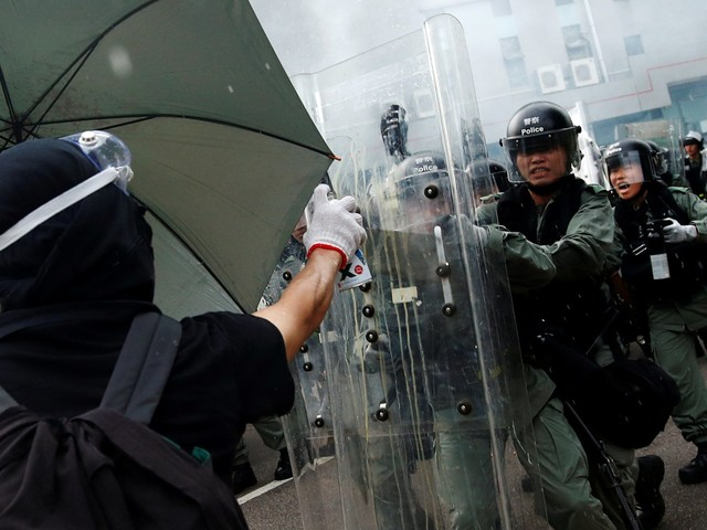 Twitter ran paid ads from China's state news media criticising the Hong Kong protests