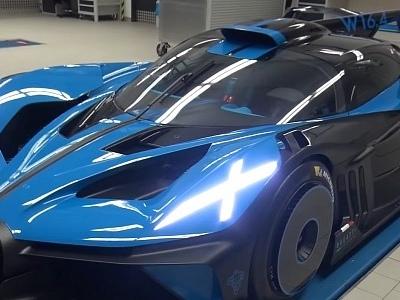 Bugatti's Secret Workshop Hosts an Exclusive Bolide Walkaround and Startup