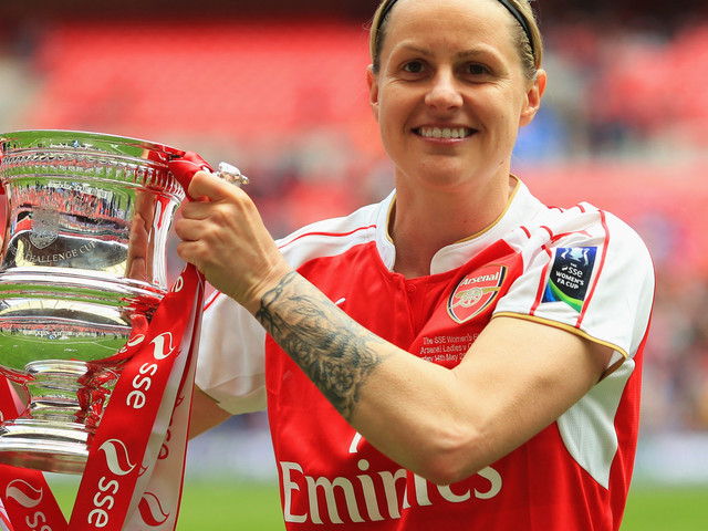 Former England Player Kelly Smith: Equal Media Coverage Of Women's Euro Could Transform The Game